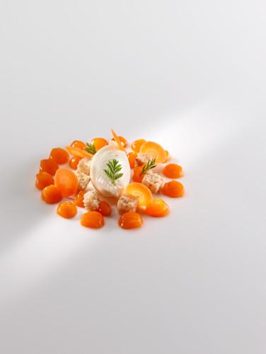 Helado-de-quinoa-zanahoria-regaliz-y-bizcocho-de-avellana