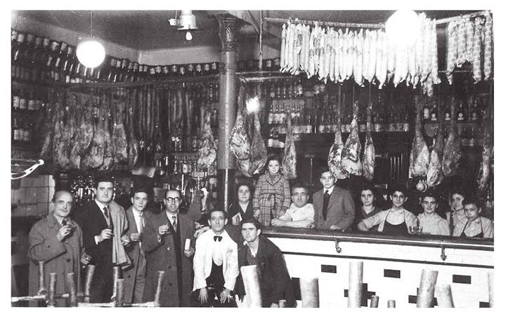Familia y empleados en los años 30 y 40, Bilbao