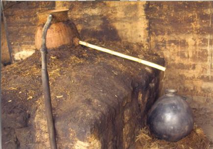 Destilador Olla de Barro - mezcal