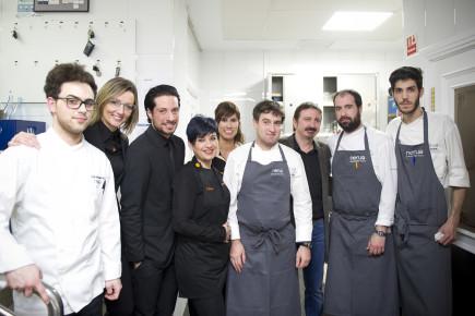 Con Txema Pascual y su equipo