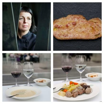 Fina Puigdevall elige pan con toma y escudella como representación de la cocina de Catalunya