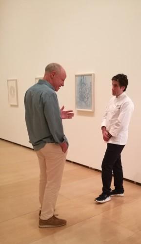 Nick Fox Weber en la exposición Anni Albers: tocar la vista