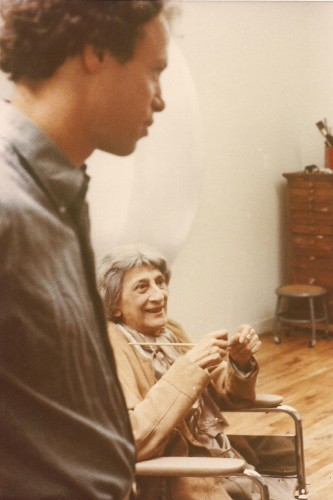 Nicholas Fox Weber & Anni Albers Tyler Workshop 1978