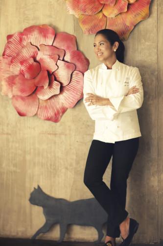 Margarita Forés, reconocida chef de Filipinas
