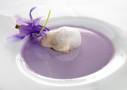 Mamia de violeta y lichis
